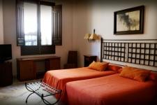 Appartement achterzijde met twin beds