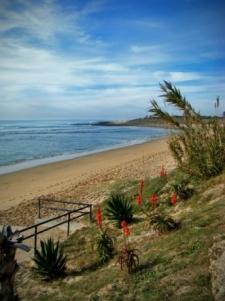 Het strand bij Zahora