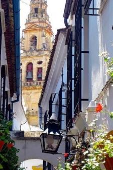 Straatje in Cordoba