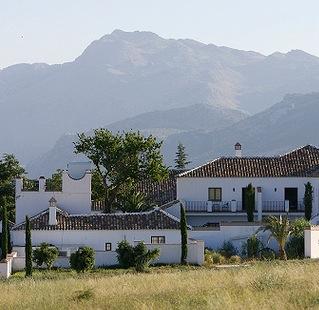 Hotel gesitueerd in oude olijfmolen bij Ronda