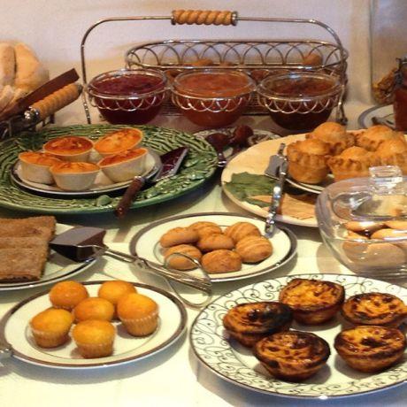 Ontbijt in Castelo de Vide