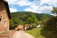 Dorpje in de Picos