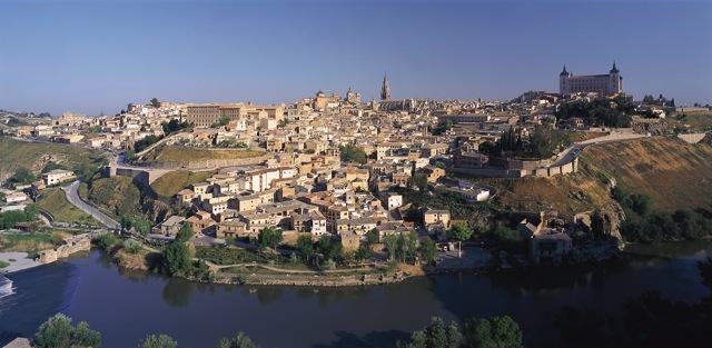 Zicht op Toledo