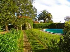 Tuin en zwembad
