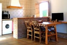 Eethoek en keuken huis 4 (Maria