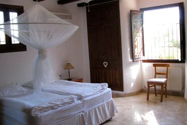 Een van de 4 slaapkamers
