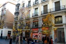 Het pand aan calle Arenal
