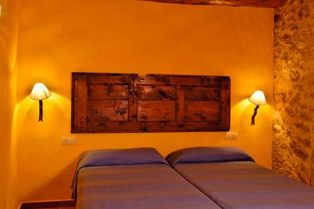 Een van de 3 slaapkamers