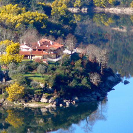 de Quinta aan de rivier de Mondego