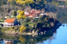 Quinta aan de Mondego rivier