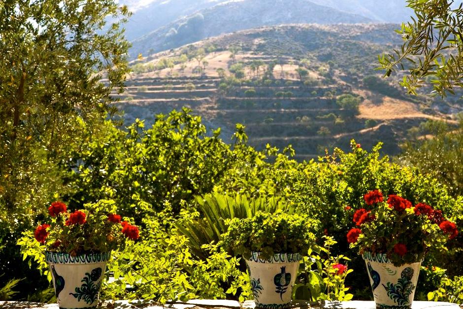 Sierra Nevada, uitzicht vanuit het hotel