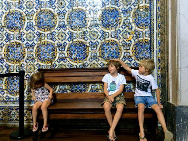 Op de universtiteit van Coimbra