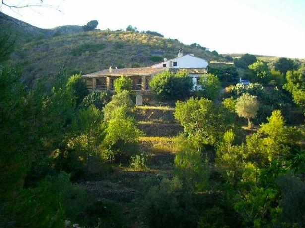 De Eco-lodge in de Sierra
