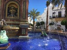 Het Plaza de España in Vejer