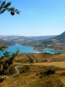 Het meer bij Zahara de la Sierra