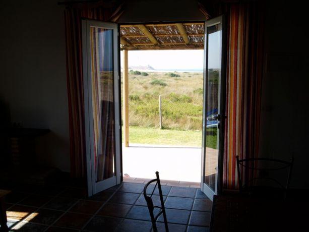 Openslaande deuren naar het terras