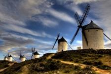 Molens in Castilla la Mancha