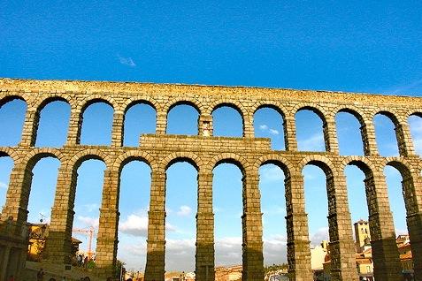 Het Aquaduct van Segovia