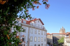 Stadspaleis aan de voet van de Kathedral in Viseu