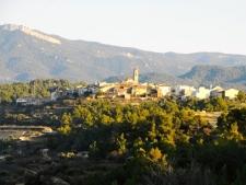 Het dorpje Els Guiamets