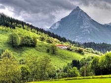 Monte Txindoki tussen Zaldibia en Larraitz