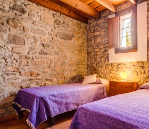 Een van de drie slaapkamers op de begane grond