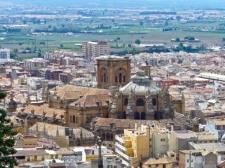 Granada - Kathedraal vanaf Alcazar