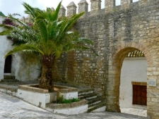 Vejer - Iglesia del Divino Salvador (poort)