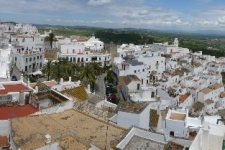 Vejer - Uitzicht vanuit La Botica - La Meca