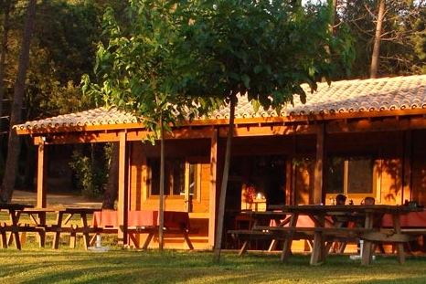 Restaurant op de camping