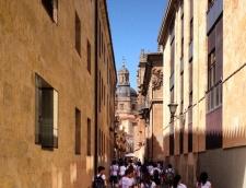 Calle Libreros in Salamanca