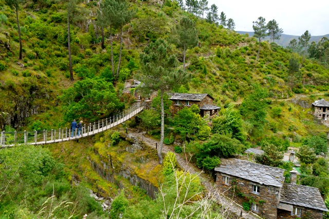 Het leistenen dorpje Piodao in de Serra da Estrela