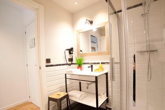 Badkamers met douche