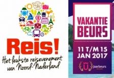Vakantiebeurs Utrecht & Reis-event Groningen januari 2017