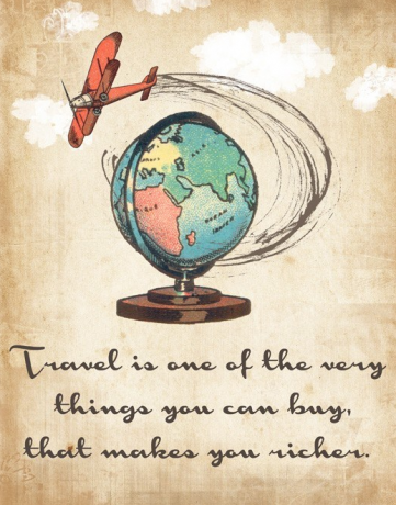 To Travel...