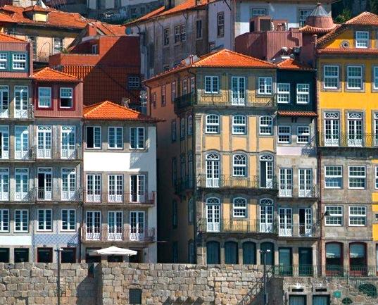 Hotel gelegen in historische panden aan de Douro