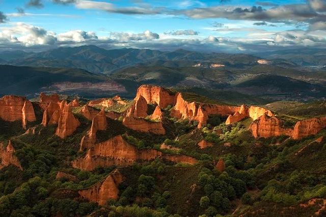 Las Medulas, de goudmijnen in El Bierzo
