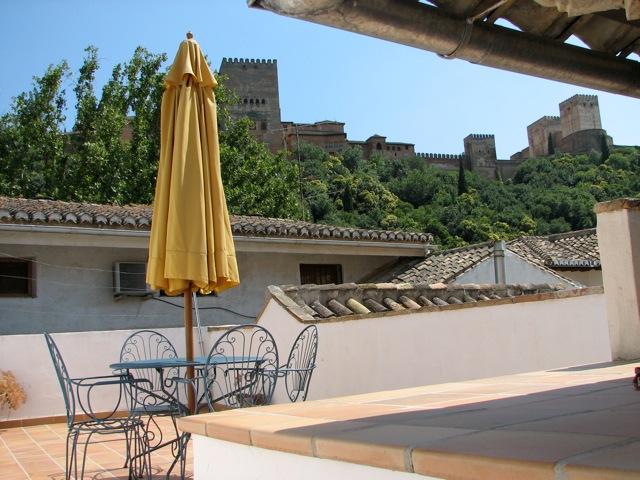 Appartement met zicht op Alhambra, Granada