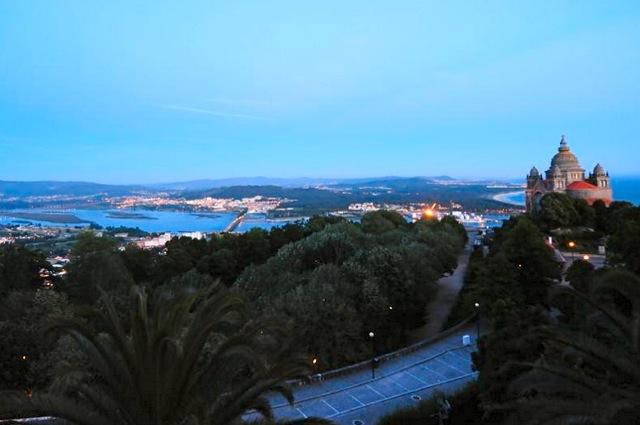 Uitzicht op Viana do Castelo