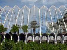 L'Umbracle Ciudad de les Artes y las Ciencias, Santiago Calatrava