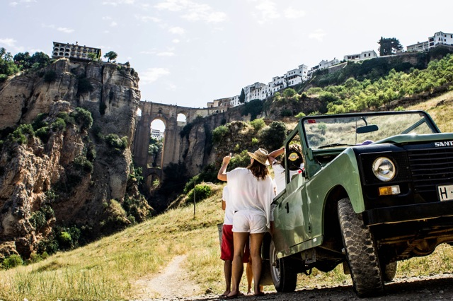 Met de Jeep in het Tajo-Ravijn, Ronda